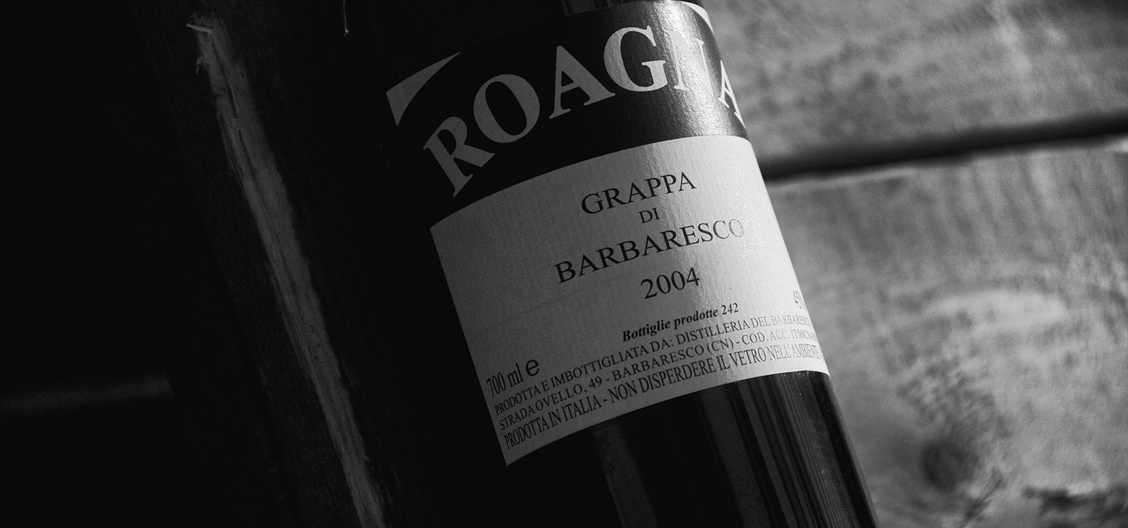 Grappa di Barbaresco Millesimo